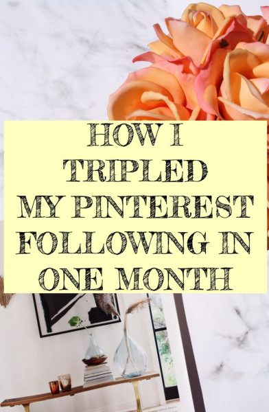 How I Tripled My Pinterest Following in One Month | Kate Loves Makeup