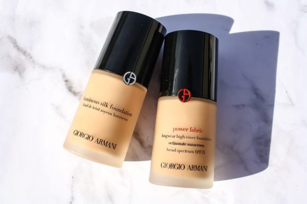 GIORGIO ARMANI BEAUTY POWER FABRIC FOUNDATION | Kate Loves Makeup