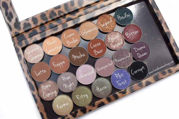 MAKEUP GEEK EYESHADOWS | SWATCHES OF MY COLLECTION | Kate Loves Makeup