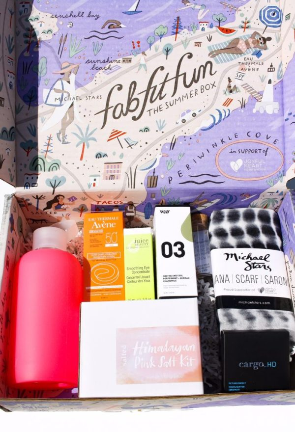 FABFITFUN SUMMER 2017 BOX REVIEW + COUPON | Kate Loves Makeup