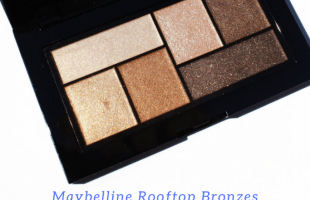 MAYBELLINE THE CITY MINI EYESHADOW PALETTE | ROOFTOP BRONZES