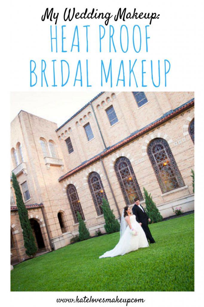 MY WEDDING MAKEUP | Kate Loves Makeup