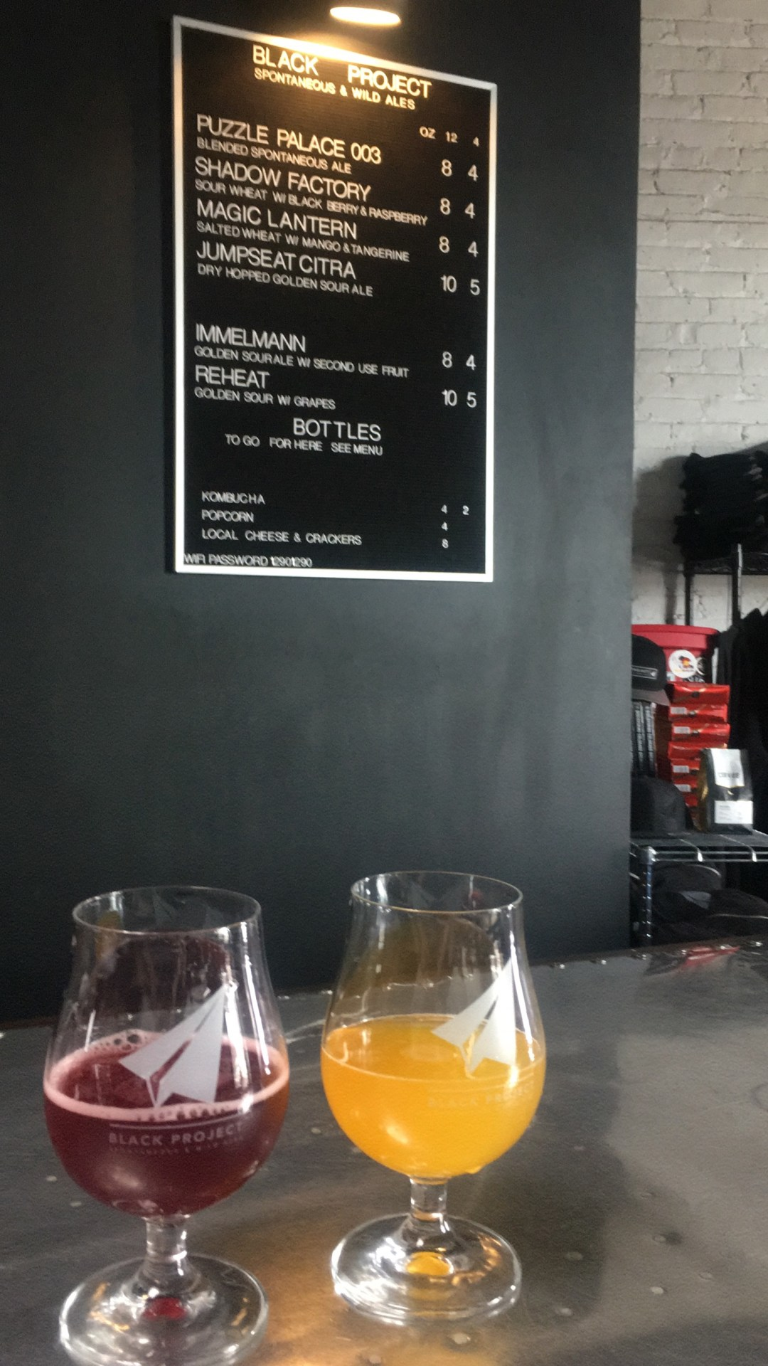 Black Project Brewing