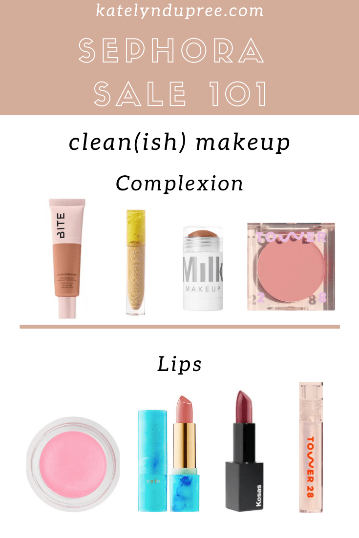 clean makeup sephora sale