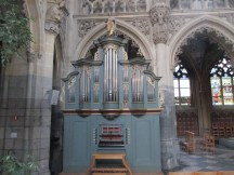 Choir organ, Église Saint-Jacques, Liège
