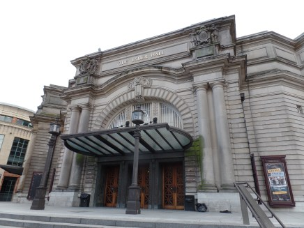 Exterior of Usher Hall, Edinburgh