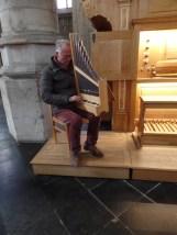Portatif organ, Église Notre-Dame du Sablon, Brussels