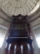 1830 Bätz organ (rest. 2014 Flentrop), Ronde Lutherse Kerk, Amsterdam