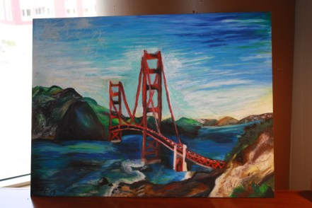 The Golden Gate Bridge, completed May 2013 (commissioned)