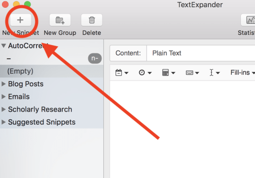 TextExpander New Snippet Using Tech Tools to Make Academic Writing Consistent
