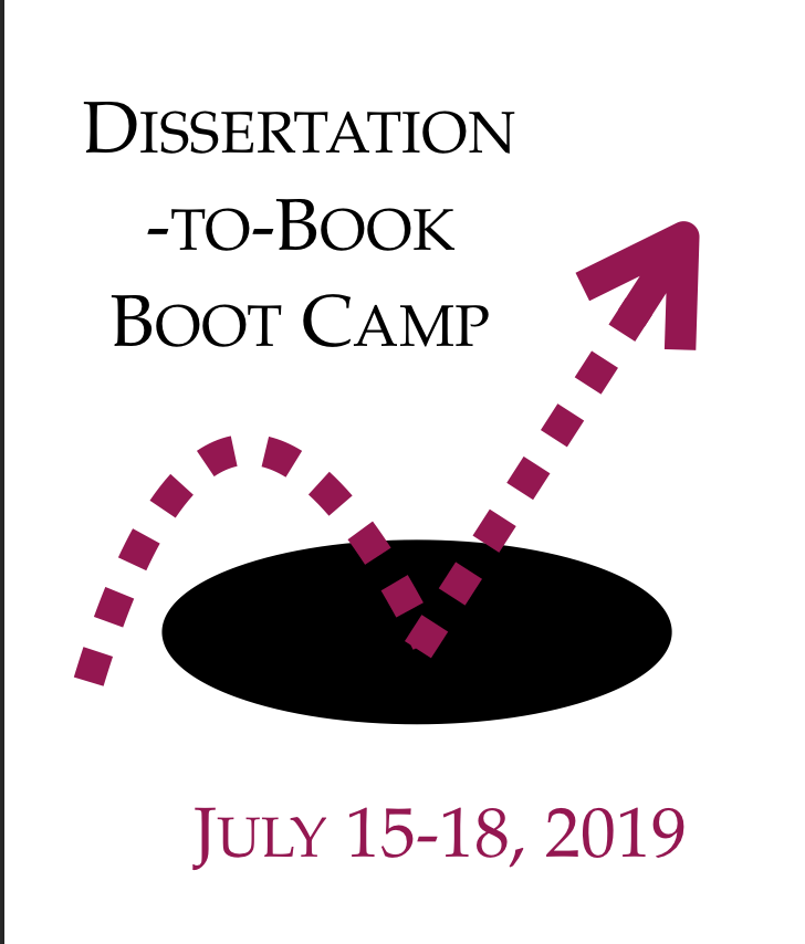 Dissertation to Book Boot Camp July 2019