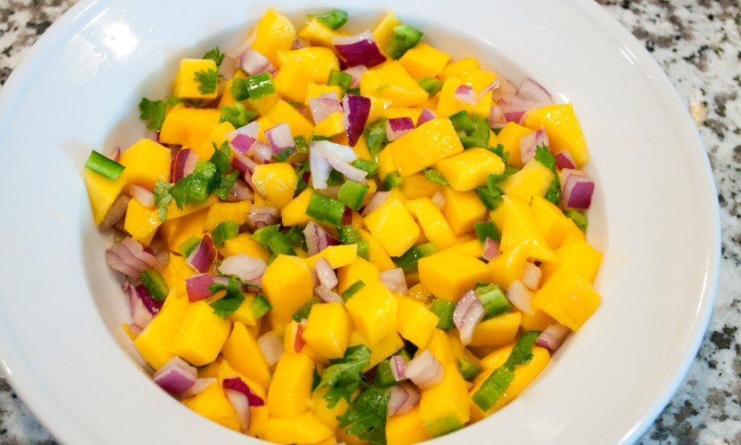 Salmon with Mango Salsa - Gallery Slide #3