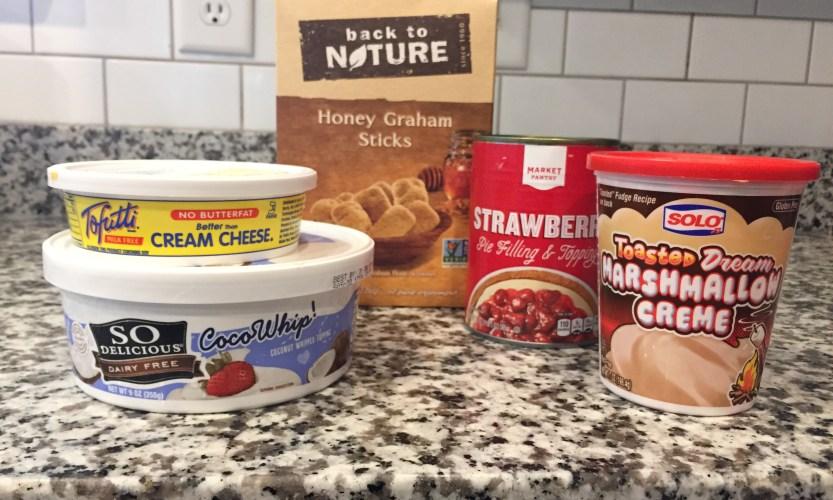 Dairy Free Strawberry Cheesecake Dip - Gallery Slide #2