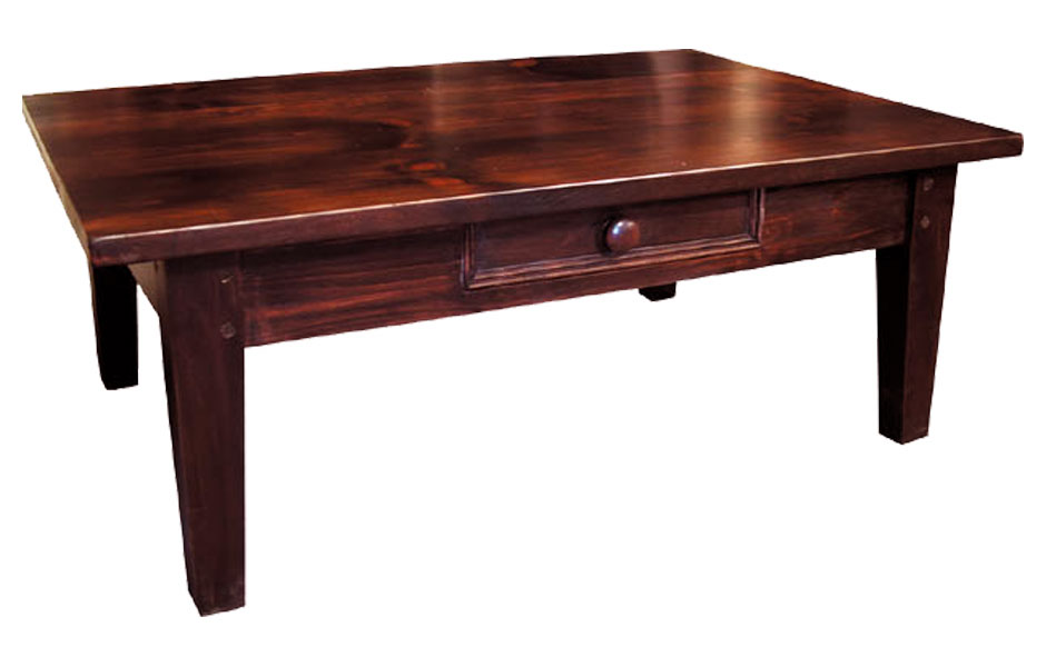 French Country Square Leg Coffee Table