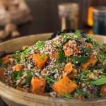 food, vegetable, salad, quinoa, pumpkin, kate mccombie, photographer, melbourne
