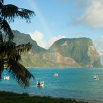 water, seascape, mountains, rainbow, kate mccombie, photographer, melbourne
