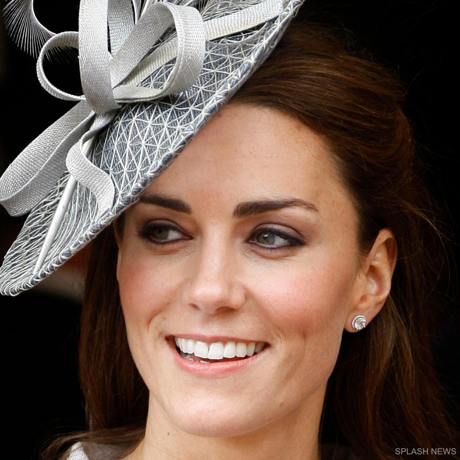 Kate Middleton wearing the Kiki McDonough Grace earrings in 2011