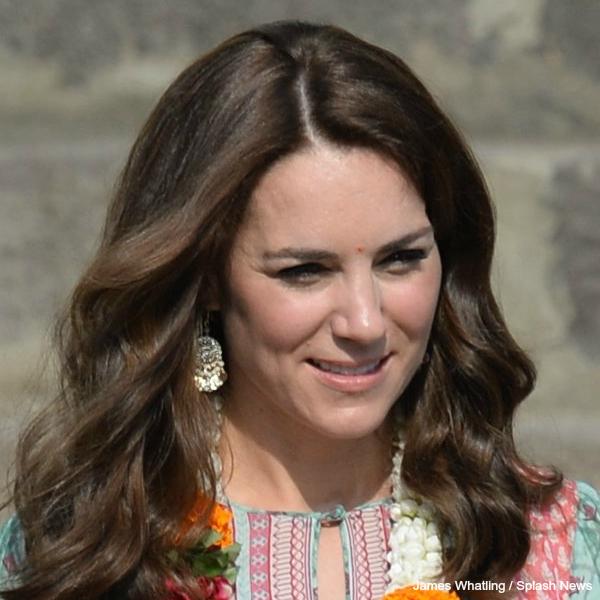 Kate Middleton wearing Accessorize earrings