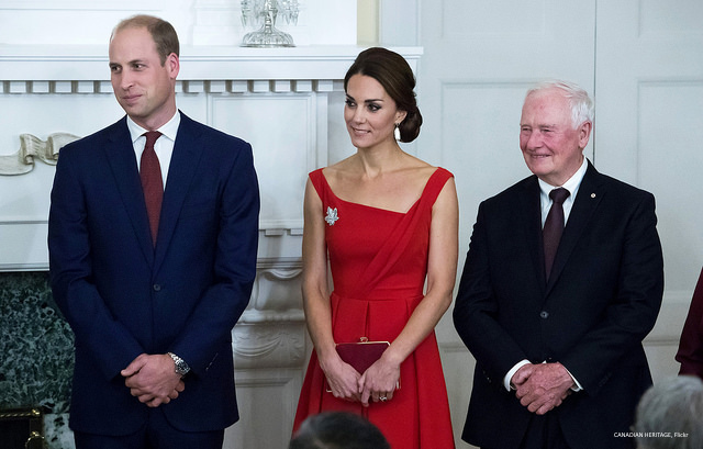 William and Kate attend the Black Rod ceremony at Government House in Victoria