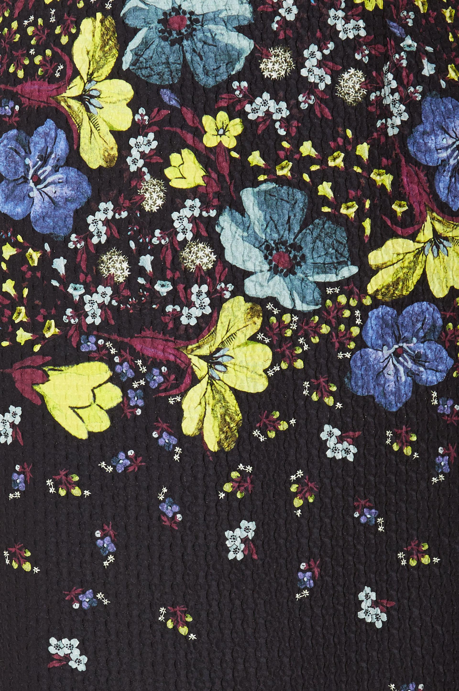 Erdem Evita Dress Lily Print