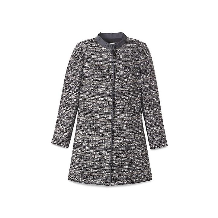 Tory Burch Bettina Tweed Coat