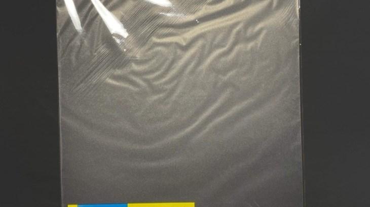 ダイソーの大きなプラスチックシート『PPシート 乳白色 両面つや消しタイプ』が薄くて固い!