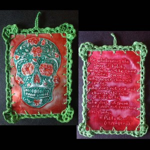 Calavera (Day of the Dead Skull) Ornaments