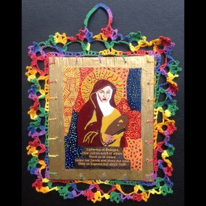 St. Catherine (Patron of Artists) Retablos