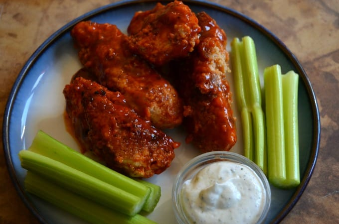 Healthy Boneless Buffalo Wings