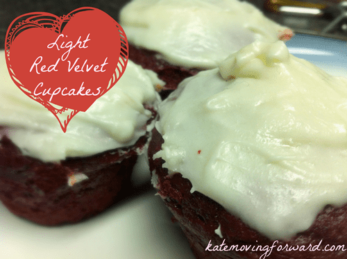 light red velvet cupcakes