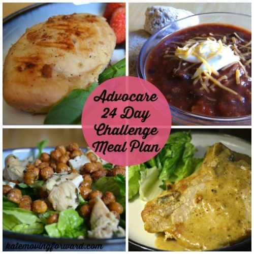 Advocare 24 Day Challenge Meal Plan