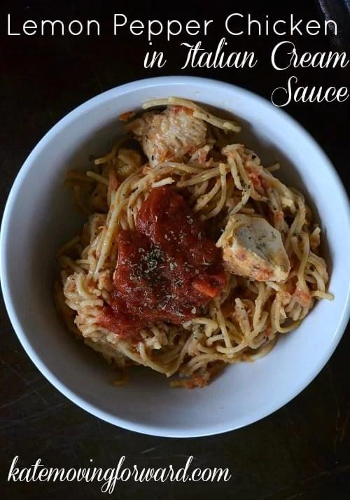 Recipes for lemon pepper chicken pasta