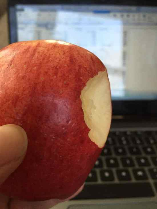 Eat a snack at your desk