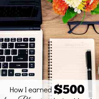 How I earned $500 from Blogging during March