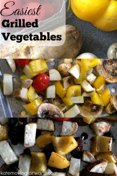 Easiest Grilled Vegetables--this healthy side is perfect for summer grilling!