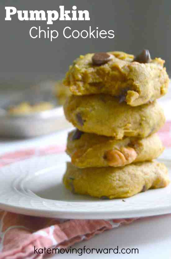 Pumpkin Chip Cookies--so good