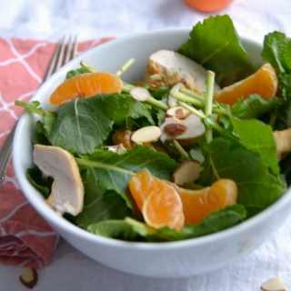 Salad with mandarin oranges