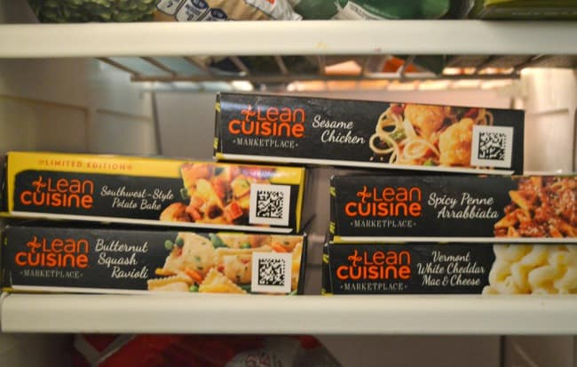 lean cuisine selection
