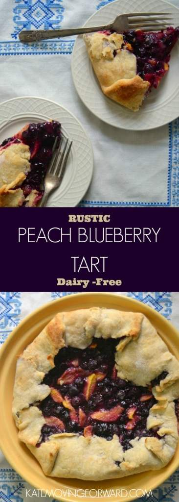 Peach Blueberry Tart