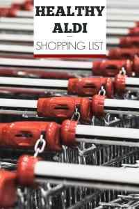 Healthy Aldi Shopping List