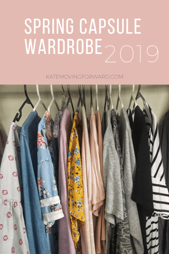 3421d383f15d Spring Capsule Wardrobe Checklist 2019 - Kate Moving Forward