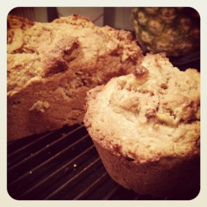 Banana Walnut Muffins and Bread