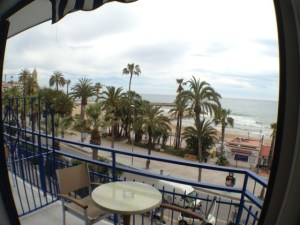 Sea View Room in Sitges from Hotel Platjador