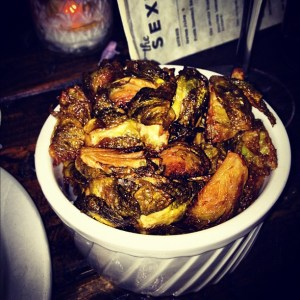The Sexton's RIDICULOUSLY DELICIOUS Fried Brussels sprouts