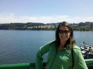 Mrs. Angle 33, Marge, is from Redmond and shows her Seattle Roots with a Ferry Picture!