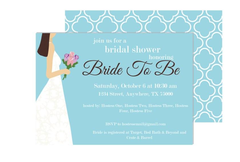 Sister S Wedding Invitation Email To Friends Broprahshow