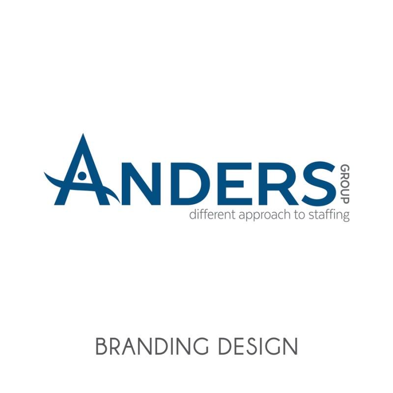 Anders Group | Rebrand + Marketing Materials