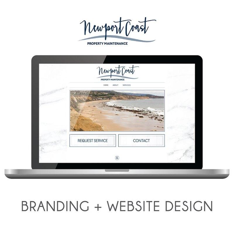 Newport Coast Property Management | Branding + Web Design