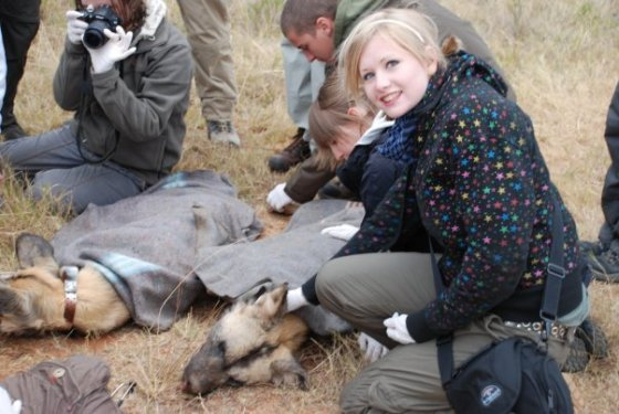 Kate on Conservation at Shamwari