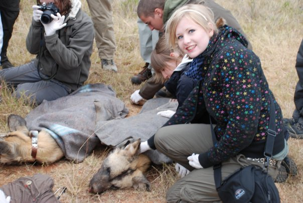 Kate on Conservation at Shamwari